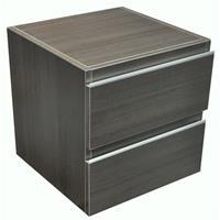Wiesbaden Modul Ladekast 450x450 houtnerf grijs