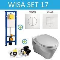 WISA XS set17 Gustavberg Saval (Met Argos of Delos drukplaat)
