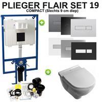 Plieger Flair Compact set19 O.novo DirectFlush