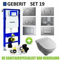 Geberit UP320 Toiletset set19 V&B O.novo DirectFlush met Sigma drukplaat