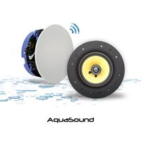 Badkameraudio Aquasound Move Bluetooth Speakerset 4.0 70W 230V 12V Wit