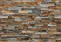 Fotobehang Colorful Stone Wall