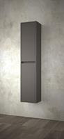 Muebles Project badkamerkast 140x30x24cm mat grijs