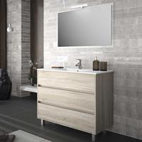 Muebles Rise staand badkamermeubel 100cm caledonia
