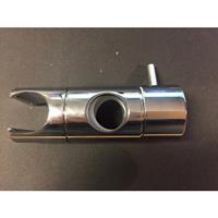 Praya glijstukje 20 mm tbv Cadans glijstangset, chroom