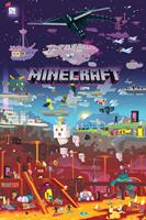 Minecraft World Beyond Poster 61x91,5cm