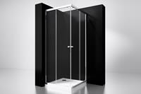 Best Design Project Douche Hoekinstap 100x100x190cm glas 5mm