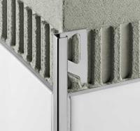 Schluter Quadec-AE tegelprofiel h=10 mm l=300 cm, aluminium, mat geanodiseerd aluminium