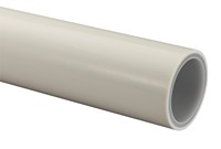 Uponor buis 32x3 mm, lengte 5 mtr, wit