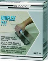 Eurocol 711 Uniflex poedertegellijm zak à 25kg, wit