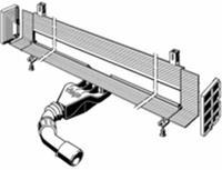 Viega Advantix Vario wand douchegoot kunststof basiselement inkortbaar 70mm (renovatiemodel)