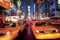 Wallpaper New York Taxi Fotobehang ()
