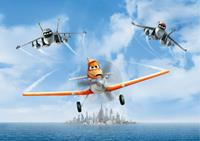 Ag Design Planes Fotobehang 2D ()