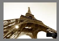 Ag Design Eiffel Tower Fotobehang 4D ()