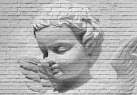Angel Brick Wall Fotobehang 366x254cm
