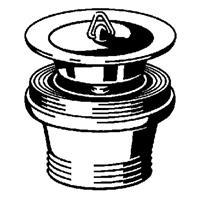 """Viega Project gootsteen-simplexplug 1 1/2""""x70, chroom"""