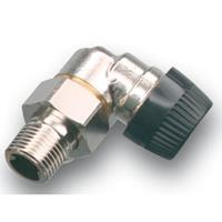 Honeywell Ultraline BB radiatorafsluiter uitvoering binnendraad/buitendraad haaks thermostatisch voorbereid