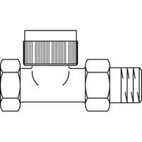 Oventrop Thermostatische radiatorafsluiter F 1/2 recht Kvs 0,32 m3 h 1180704