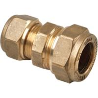 Flowflex messing knelkoppeling verlopend 15x12mm Gastec / Kiwa L90119 L901.19