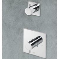 Hotbath Laddy L012 inbouw thermostaat met 1 stopkraan chroom