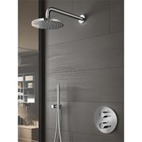 Hotbath Get Together complete thermostatische douche-inbouwset Buddy met 2-weg-omstel, chroom