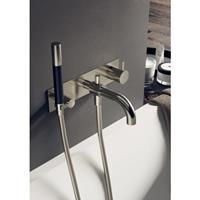 Hotbath Cobber badmengkraan inbouw geborsteld nikkel CB026GN