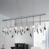 Kolarz Bijzondere kristallen hanglamp Stretta