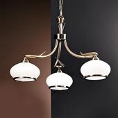 ORION Smaakvolle hanglamp Elvira, 3-lichts