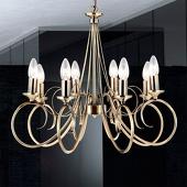 Globo Sfeervolle hanglamp TRUNCATUS, 8-lichts