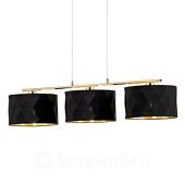 EGLO Textiel hanglamp Dolorita met drie lichtbronnen