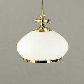 ORION EMPIRA - kleine hanglamp m. opaalglas, diam. 24 cm