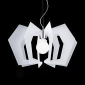 Artempo Italia Innovatieve design-hanglamp Spider, wit
