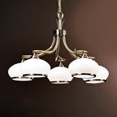 ORION Aparte hanglamp Elvira, 5-lichts