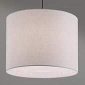 ORION Hanglamp Artak met witte, stoffen kap