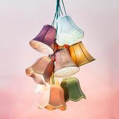 Kare Design Hanglamp Saloon Flowers 9