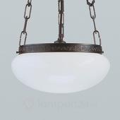 Berliner Messinglampen Antiek uitziende hanglamp Verne