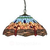 Searchlight Klassieke Tiffany-stijl hanglamp DRAGONFLY