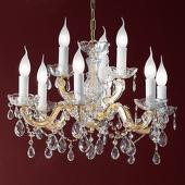 ORION Kroonluchter met ornamenten, 9-lamps