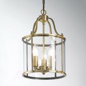 ORION Hanglamp Rieka, ronde lantaarnvorm, 25 cm