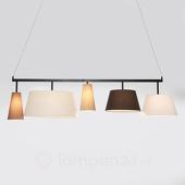 Verstelbare Hanglamp Parecchi 5-Lichts B165 Cm -