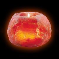 Wagner Life Fraaie zoutkristallen theelichthouder, medium