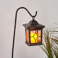 Lampenwelt Decoratieve LED- solarlantaarns Beata in een set