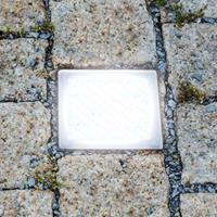 Heitronic Betreedbare LED-grondinbouwlamp Straatsteen