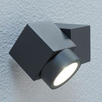 Lampenwelt Beweeglijke LED-buitenstraler Lorelle