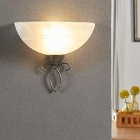 Lampenwelt Romantisch overkomende wandlamp Mohija