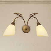 Lam 2-lichts wandp Alessandro