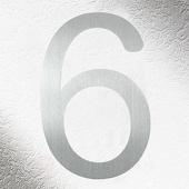 CMD Rvs huisnummers 6, goede kwaliteit