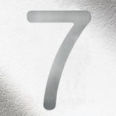 CMD Rvs huisnummers 7, goede kwaliteit