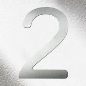 CMD Rvs huisnummers 2, goede kwaliteit