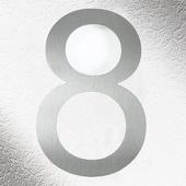 CMD Rvs huisnummers 8, goede kwaliteit